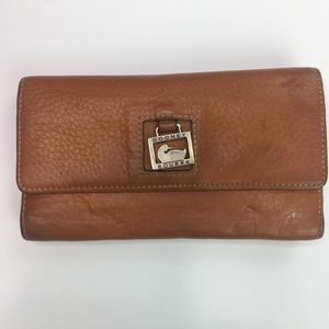 Vintage Dooney & Bourke Tri-Fold Wallet Checkbook